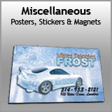 Miscellaneous - Posters, Magnets & Stickers