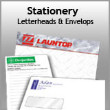 Stationery - Lettehead and Envelopes